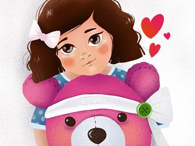 Closer elena-greta ipadpro art digital art procreate art illustration children illustration childhood week childhoodweek2019