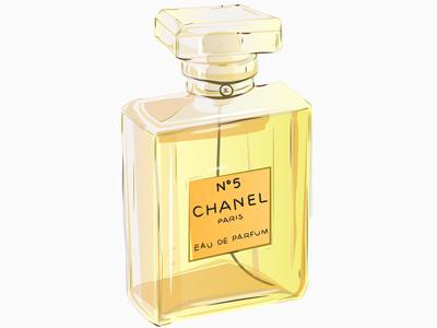 Dribbble 181 an education chanel no 5 paris eau de parfum illustration vector bottle iscariotteh elena-greta apostol bafta awards