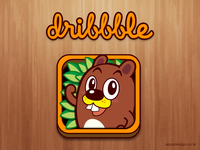 'Jake the Beaver' iOS game Icon Design
