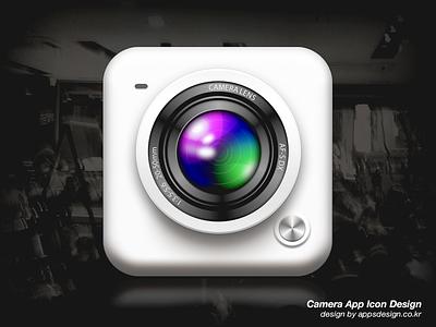 iPhone Camera App Icon Design camera app icon design ios iphone application apps design appsdesign 앱스디자인 이종원 앱디자인 아이폰 카메라 아이콘