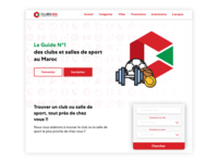 Clubma Landing Page Redesign