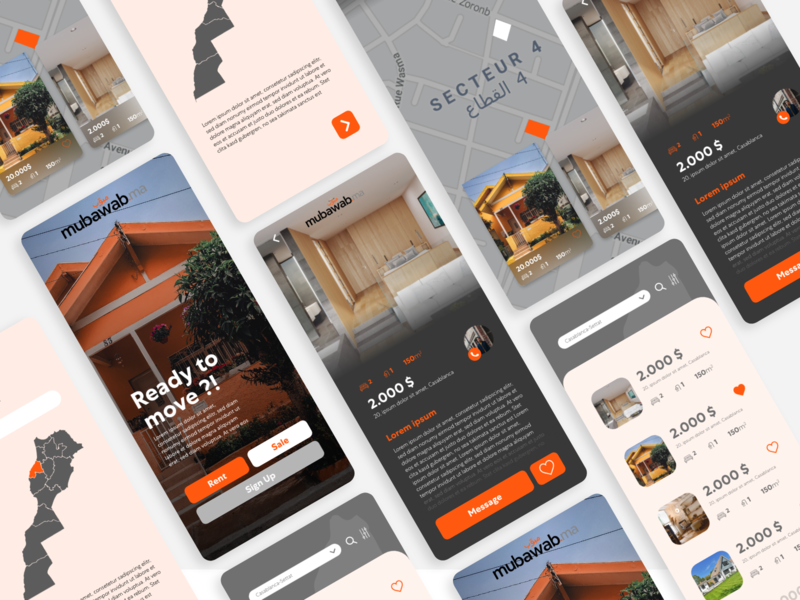 Home App uxdesign uidesign android ios home application branding app design app redesign mobile flat ui ux minimal design clean