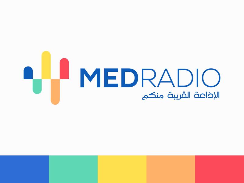 Radio logo design logotype logo design logodesign radio branding design brand design brand identity brand clean flat branding logo minimal design