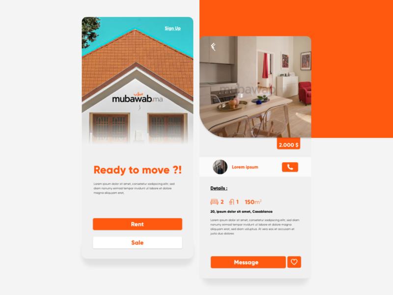 Home App Concept uidesign minimal interface interaction design interaction creative application ui application design app design web ux ui design