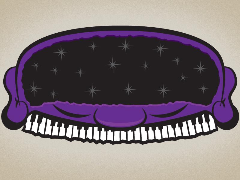 A Bit Spacey... menu illustrator illustration space music face