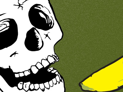 Skullnanner doodles wacom photoshop illustration