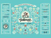Gallimaté || Label Design