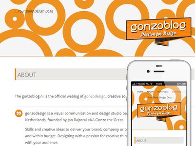 New gonzoblog 01