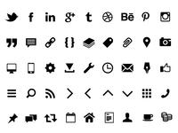Icon Font Lamet