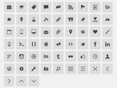 gonzocons 2.0 icon font gonzodesign version 4.2 realignment @font-face