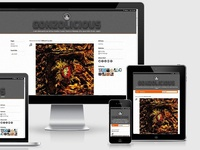 Gonzolicious - Responsive (Premium) Tumblr Blog Theme
