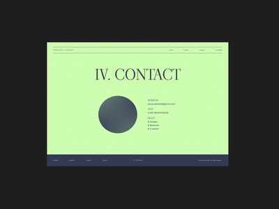 UI Contact Page Animation Concept contact us product design designer gif portfolio contact page contact experience design graphic design userinterface video sphere animated gif protopie animation website web design digital design design ui