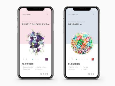 - Flowers App UI