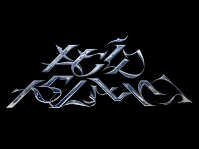ACID ISLAND CHROME LOGOTYPE branding visual identity logotype typography graphic design chrometype logo