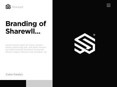 Sharewll hitech modern typography elegant clean