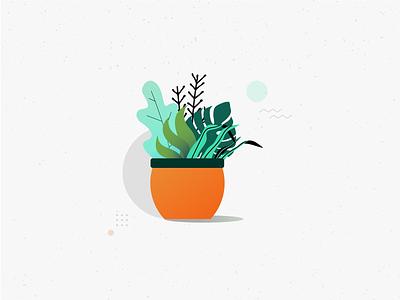 Floresitas colors diseño vector ilustración