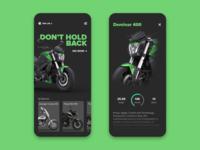 Bajaj Mobile App Concept design