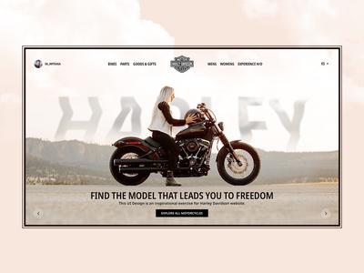 Harley Davidson Website