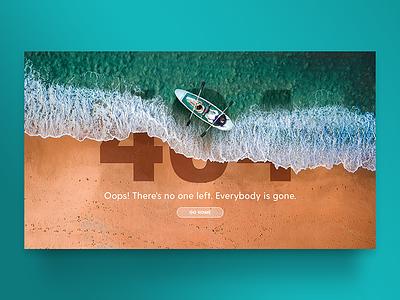Error404 mar navegación interaction ideas creativas diseño web diseño gráfico inspiración uidesign 404page pagina de error