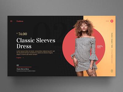Fashion template interface inspiration interaction web design web wordpress ui design ui theme
