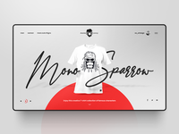 Concept design for MonoSexy website