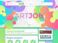 My website for webdesign studio