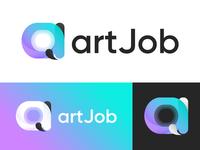Logo concept: artJob