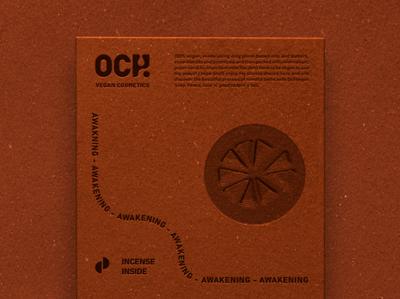 och vegan packaging back mockup design clean typography flat illustration vector icon logo branding