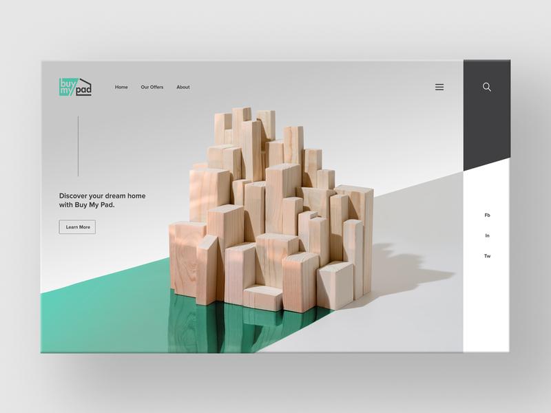 Bmp Web branding city newyork manhattan artworks mockup ux brand clean real estate artwork webside landing page webdesig web