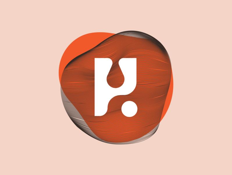 Och Vegan Monogram lettermark monogram logo monogram logodesign rebranding vector clean brand design branding logo