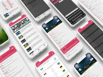 Football News & Updates App Design