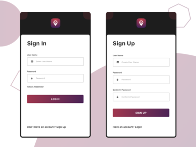 Sign Up-Login