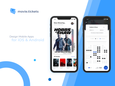 Movie Booking App Concept 🍿🍿🍿