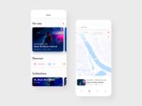 Concert Ticketing App Concept #2