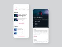 Concert Ticketing App Concept #3