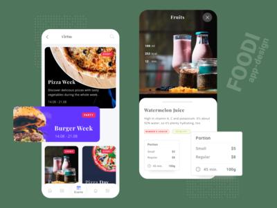 Foodi   App Concept
