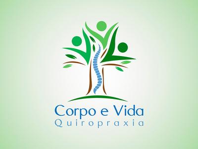 Corpo e Vida Quiropraxia Logo