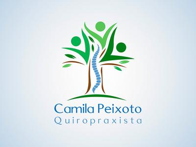 Camila Peixoto Quiropraxia Logo