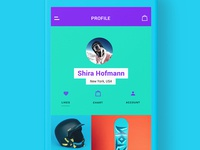Profile - Snowhills Snowboard App