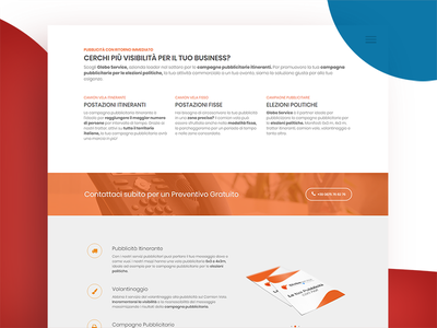 Landing Page Design page interface design website webpage webdesign web ux ui landing