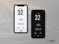 Soft UI Dark/Light Sport App