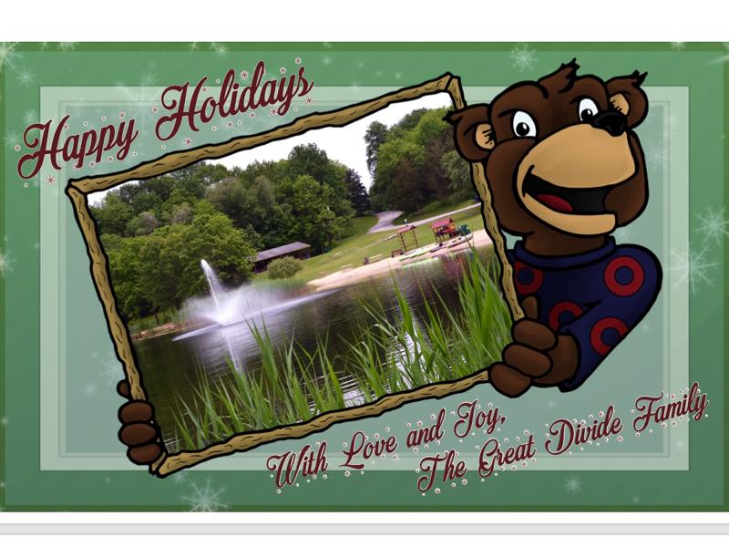 Holiday Catd mascot visual identity illustration artist card illustration character design