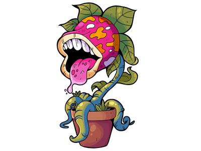 Monstrokeuj - Carnivorous plant