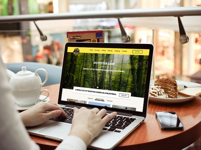 Hunting Wordpress Theme wp wordpress theme green yellow hunter hunting