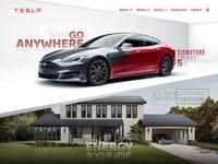 Tesla Model S UI Design car automobile model tesla interface ui