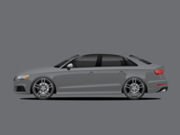 Audi S3 8V Illustration