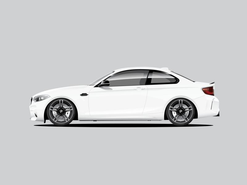 BMW M2 bmw vector illustration automotive