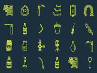 Anesthesia Icons