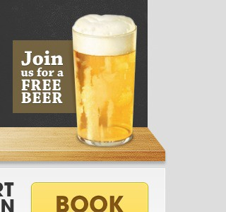 Shelf shelf beer email template