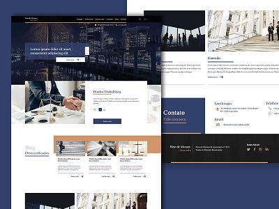 Layout - Neto De Moraes ui design web layout